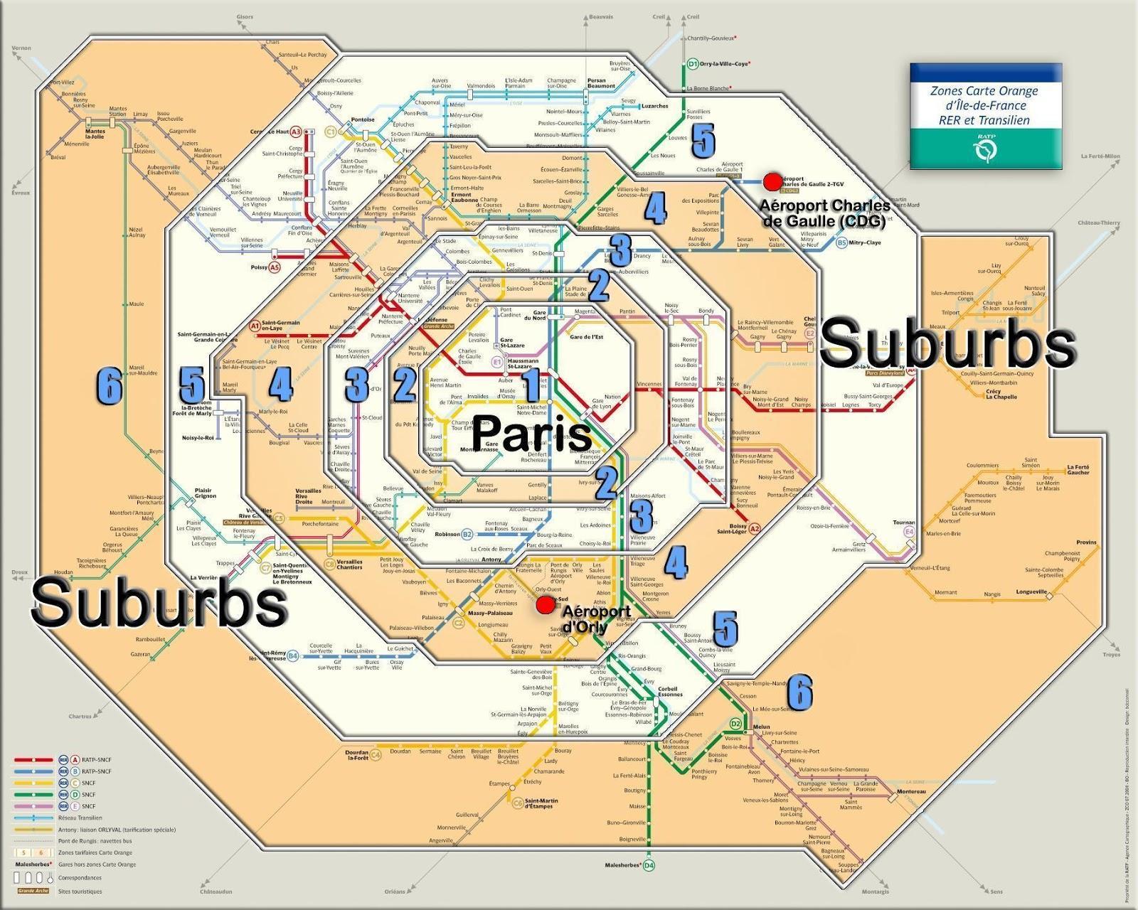 Aeroporti Parigi Cartina