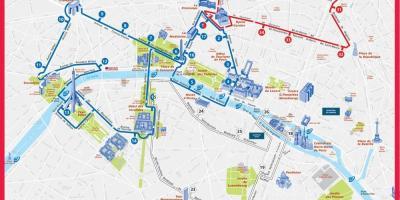 Cartina Parigi Con Monumenti E Metro.Parigi Mappa Mappe Di Parigi Ile De France Francia
